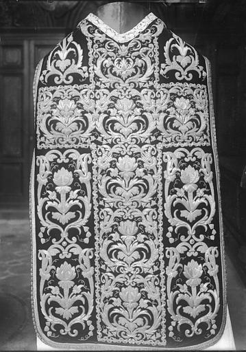 Chasuble dite de saint Vincent de Paul