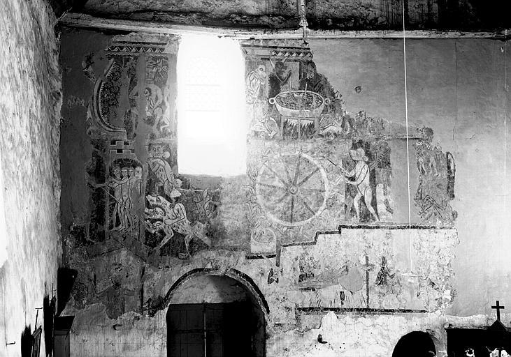 Peinture murale des Supplices infernaux : ensemble