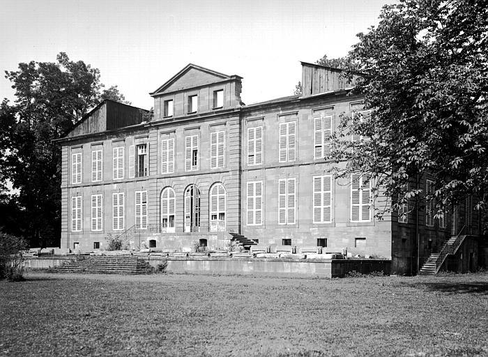 Château, puis Administration centrale de la Société de Dietrich