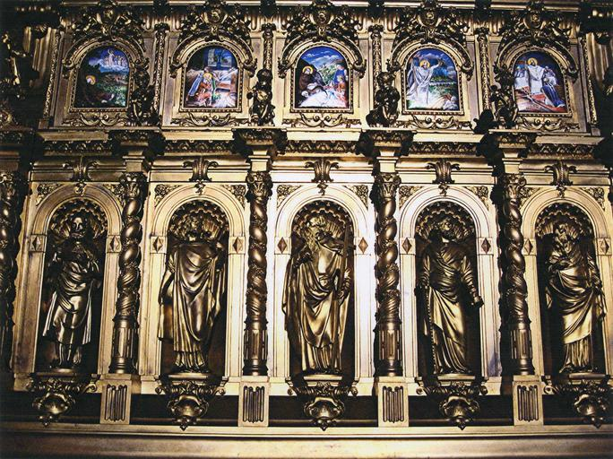 Châsse de saint Remi, vue d'ensemble