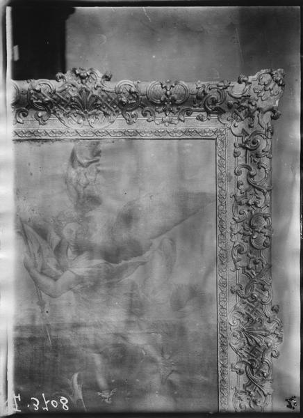 Tableau, cadre : Saint Michel-archange