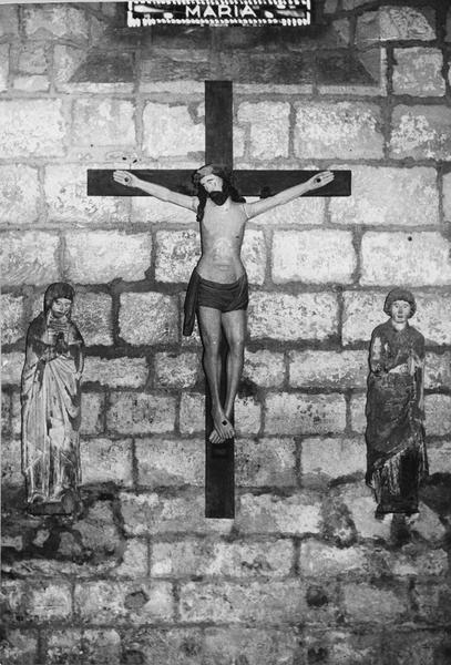Calvaire : Christ en croix, entre la Vierge et saint Jean (Le)