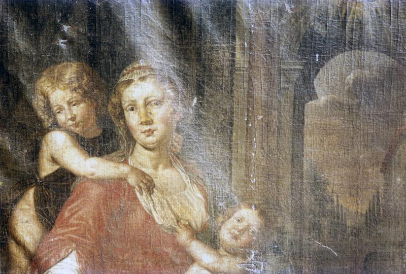 Tableau : Sainte Hélène et la Charité