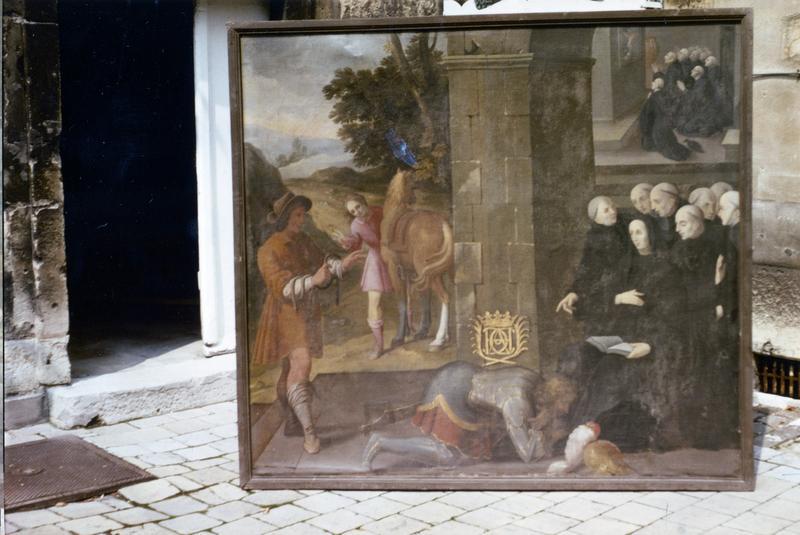 Tableau : Miracles de saint Benoit (Les)