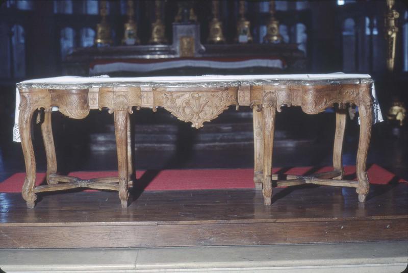 Console, autel (maître-autel) style Louis XV