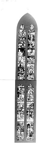 Photomontage de vitrail : baie 11