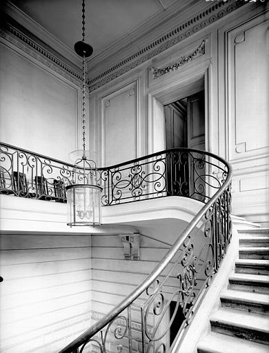 Arrivée d'escalier au premier étage