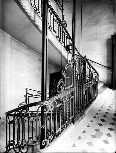 Escalier : rampe