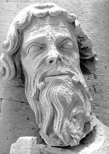 Tête de saint André