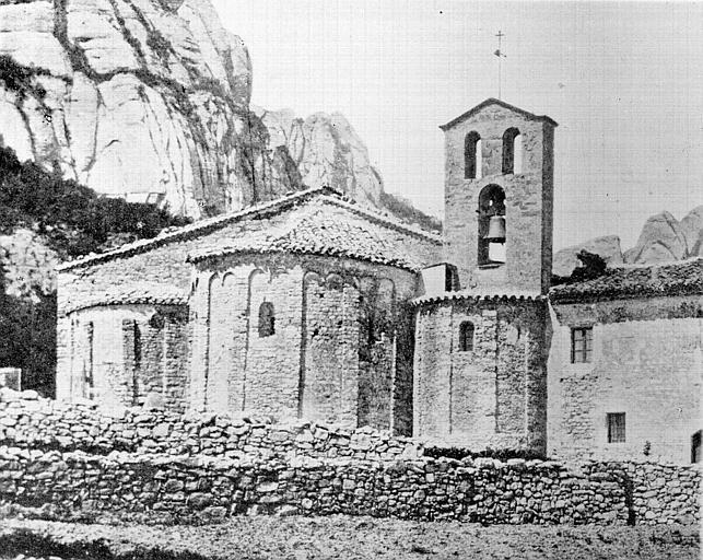 Vue générale, côté abside