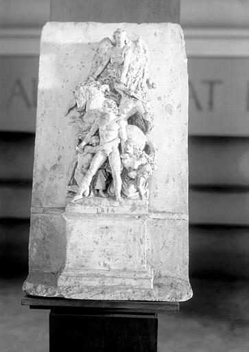 Projet de relief pour l'Arc de Triomphe