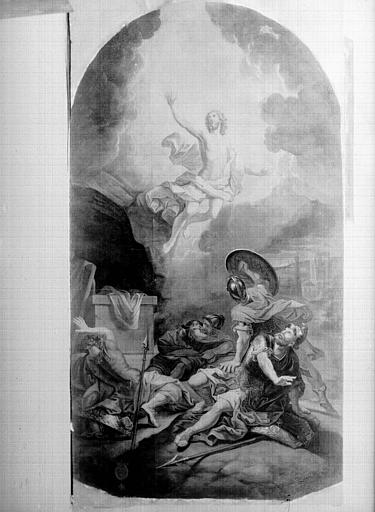 Peinture sur toile : Résurrection