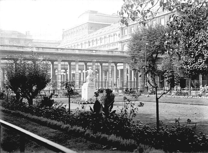 Jardins et galerie d'Orléans, vers la Comédie Française