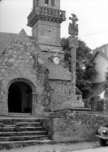 Face du calvaire remonté au 17e siècle