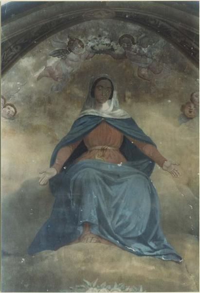 Peinture monumentale: Don de la Vierge à la France, détail