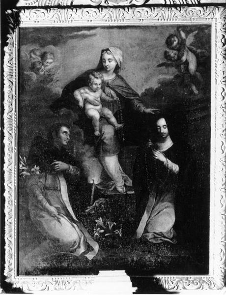 Tableau : le Rosaire