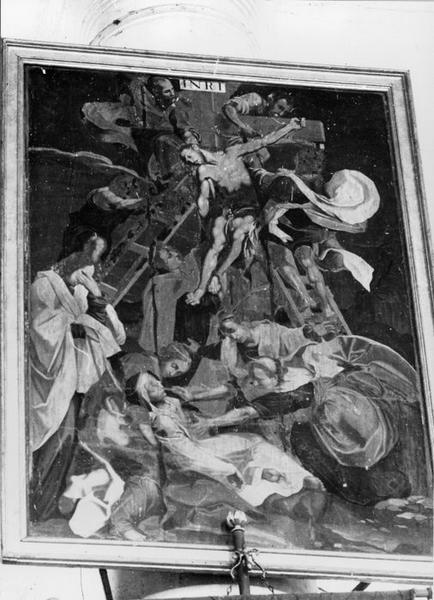tableau : Descente de Croix, vue générale