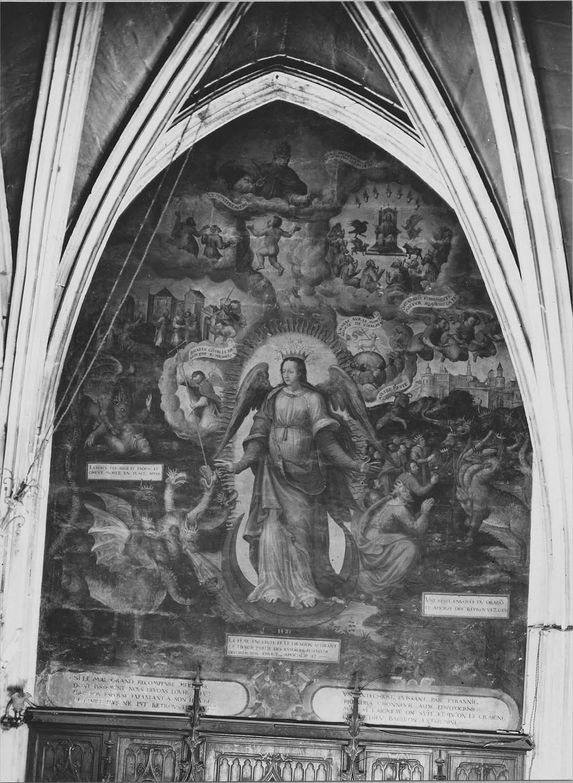 Peinture monumentale : Scènes de l'Apocalypse