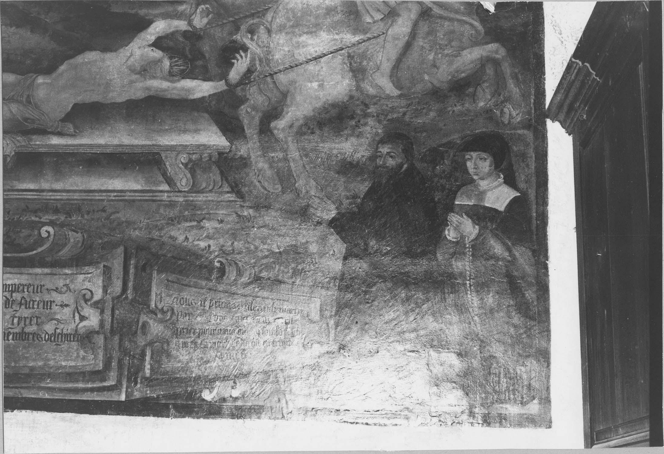Peinture monumentale : le Martyre de saint Hippolyte