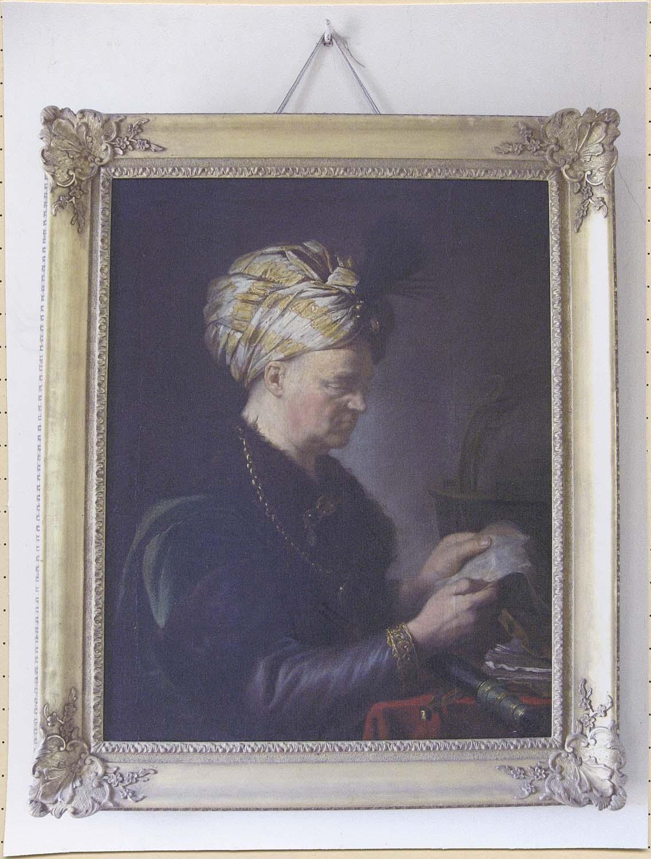 tableau : portrait de Charles Richer de Rodes de la Morlière