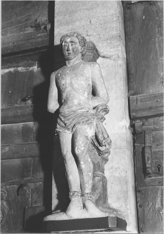 sculpture : Saint Sébastien