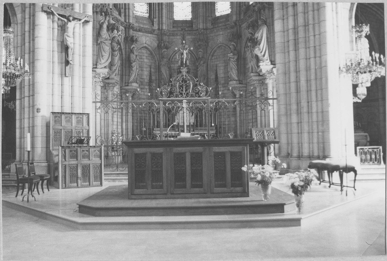 clôtures du choeur et des chapelles latérales (grilles)