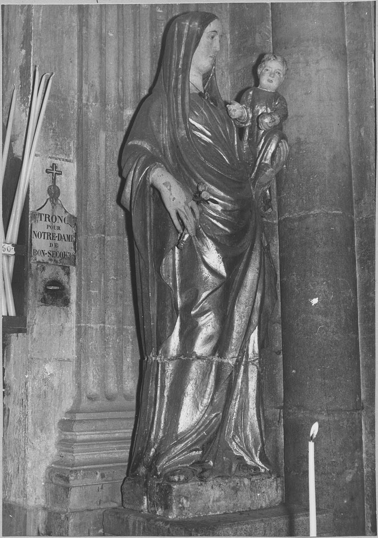 Statue dite Notre-Dame-de-Bon-Secours : Vierge à l'Enfant