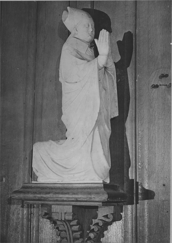 Statue : Guy Baudet, évêque de Langres, chancelier de France sous Philippe VI