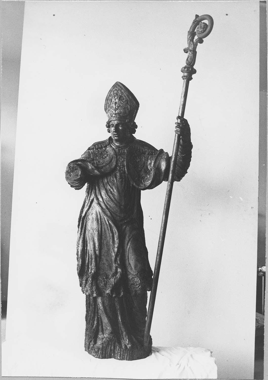 2 statues : Saint Fiacre, Saint Blaise