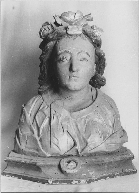 Buste-reliquaire : Sainte Flore