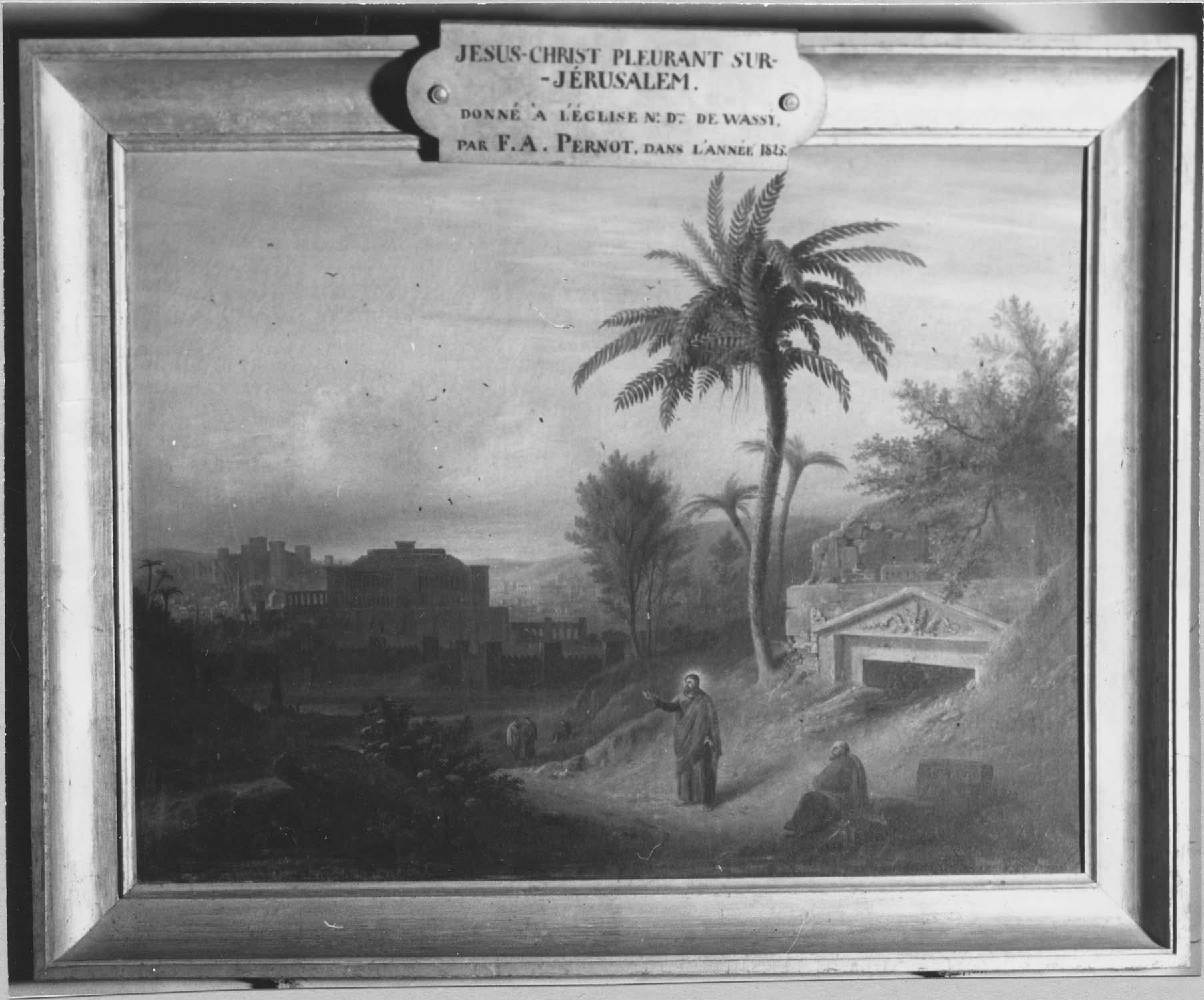 Tableau : Christ pleurant sur Jérusalem (Le)
