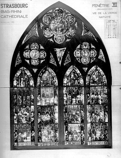 Photomontage de vitrail : baie VI, Empereur d'Allemagne