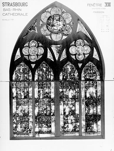 Photomontage de vitrail : baie VIII, Empereur d'Allemagne