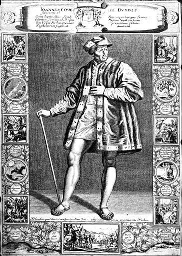 Gravure : Jean Comte de Dunois
