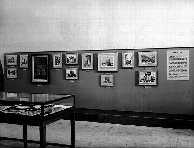 Exposition des documents de 1870 à 1914