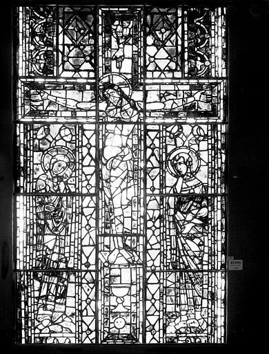 Vitrail : Crucifixion
