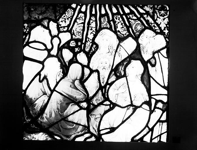 Vitrail : Pentecôte