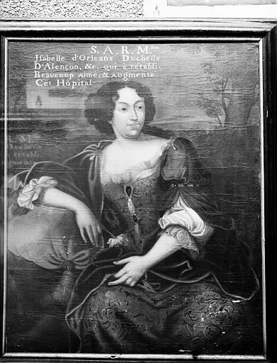 Portrait d'Isabelle d'Orléans, duchesse d'Alençon