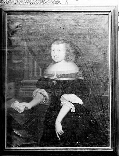 Portrait de Marguerite duchesse d'Orléans et d'Alençon, belle-fille de Louis XIII