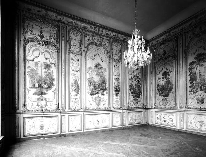 Premier étage : quatrième salon dit des Singes