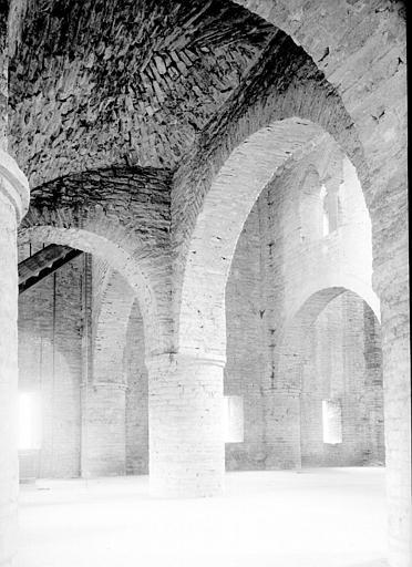 Chapelle saint Michel au-dessus du narthex : ensemble vers le sud-ouest