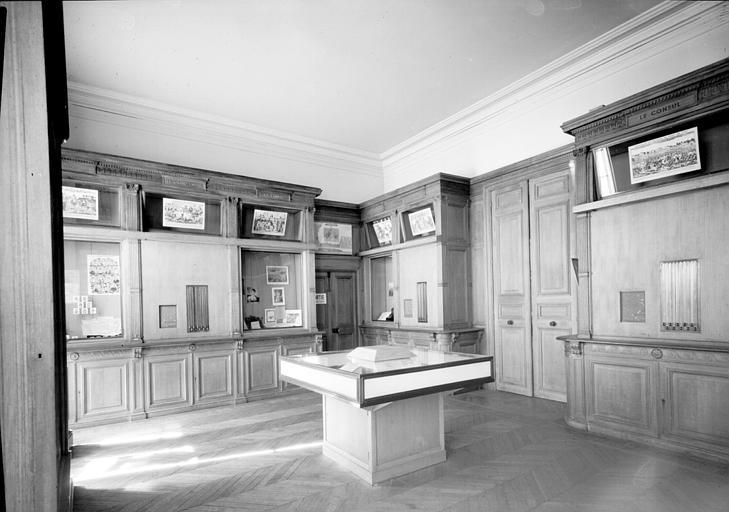 Premier étage : une salle du Musée de l'histoire de France