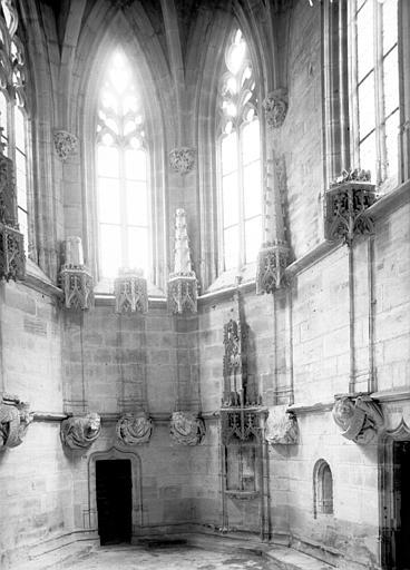 Chapelle de Bourbon : intérieur, abside