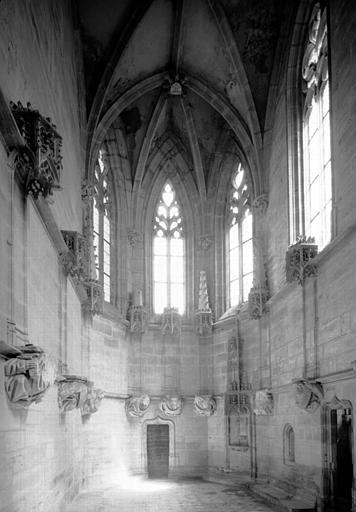 Chapelle de Bourbon : ensemble vers l'est