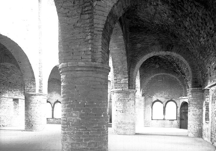 Chapelle saint Michel au-dessus du narthex : ensemble vers le nord-est