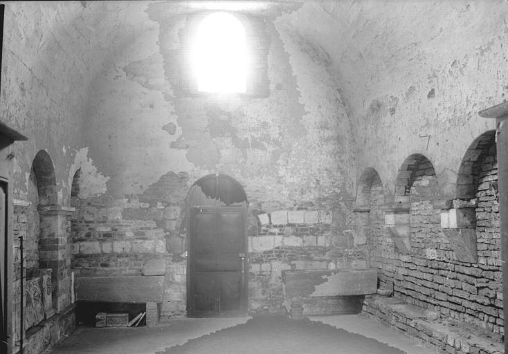 Chauffoir situé dans les bâtiments conventuels : vers l'est