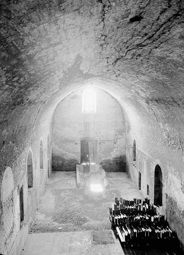 Cloître Saint-Ardain, vers l'ouest