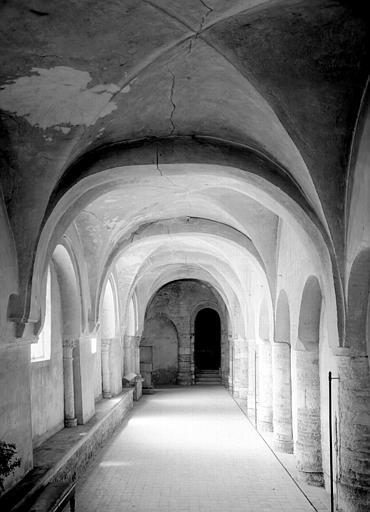 Chauffoir situé dans les bâtiments conventuels