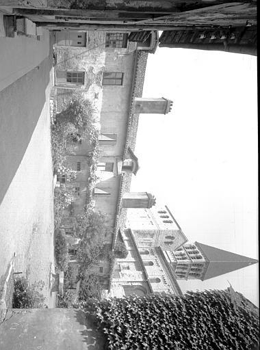 Ancien cloître : galerie ouest