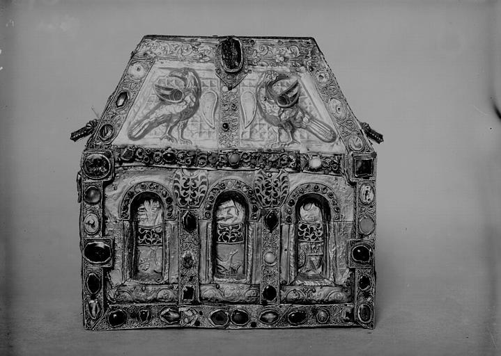 Châsse de Bégon III : face postérieure